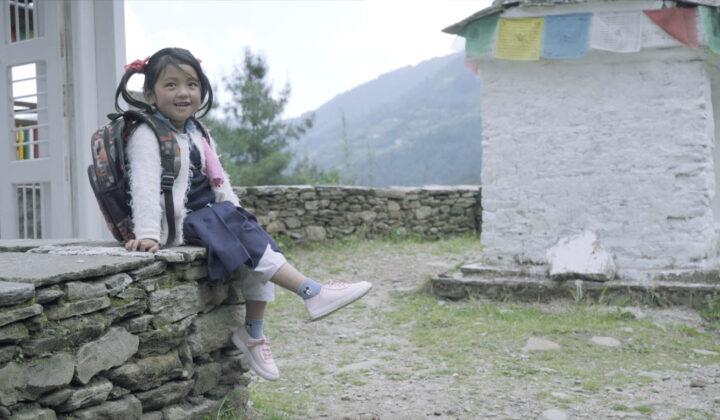Buciki małej dziewczynki / The Shoes of a Little Girl
